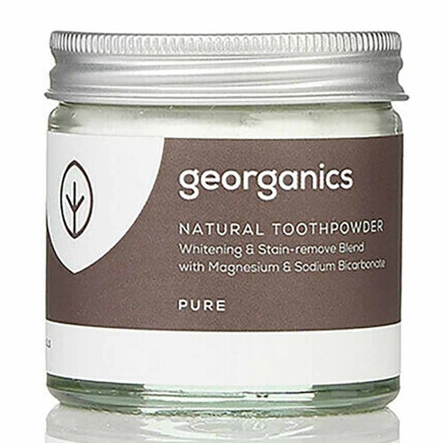 Georganics Natural Toothpowder - Pure (60ml)