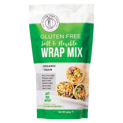 The Gluten Free Food Co. Wrap Mix (350g)