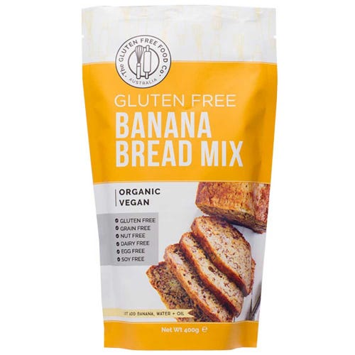 The Gluten Free Food Co. Banana Bread Mix (400g)