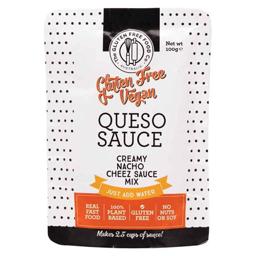 The Gluten Free Food Co. Vegan Queso Sauce (100g)