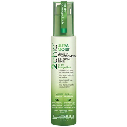 Giovanni 2Chic Ultra Moist Leave-In Conditioning & Styling Elixir (118ml)