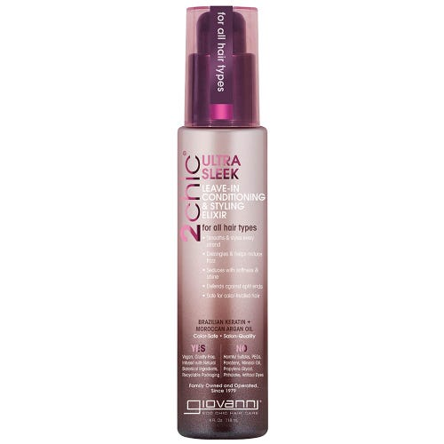 Giovanni 2Chic Ultra Sleek Leave-In Conditioning & Styling Elixir (118ml)