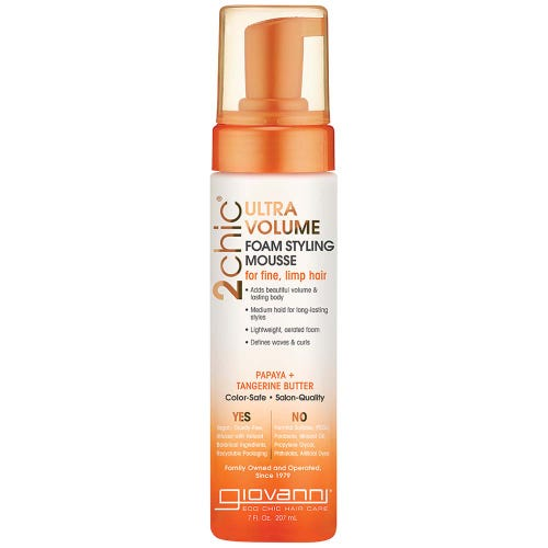 Giovanni 2Chic Ultra Volume Foam Styling Mousse (207ml)
