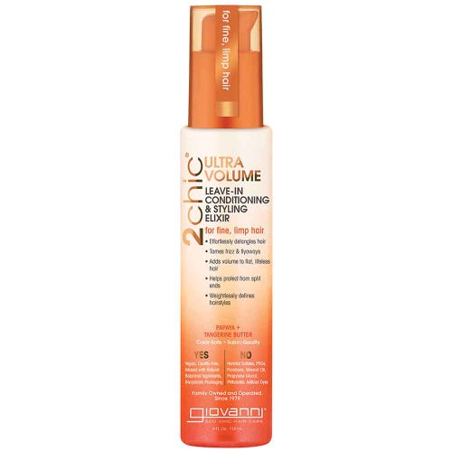 Giovanni 2Chic Ultra Volume Leave-In Conditioning & Styling Elixir (118ml)