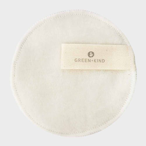 Green + Kind Reusable Bamboo Makeup Remover Pad