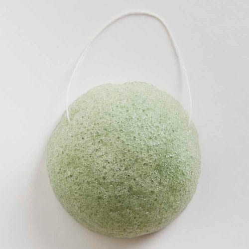 G+K Konjac Sponge Green Tea - Antioxidant Rich