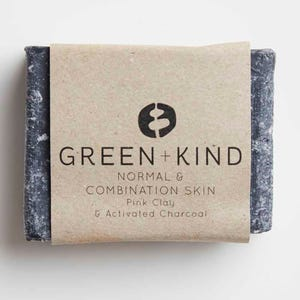 Green + Kind Facial Cleansing Bar - Normal/ Combination Skin (100g)