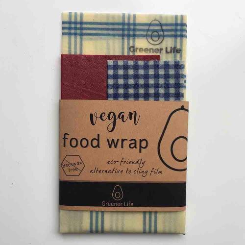 Greener Life Vegan Food Wrap - Check