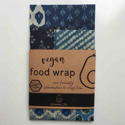 Greener Life Vegan Food Wrap - Dark Blue