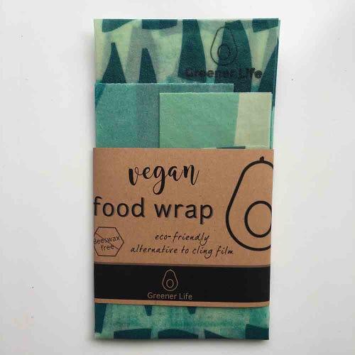 Greener Life Vegan Food Wrap - Groovy Green