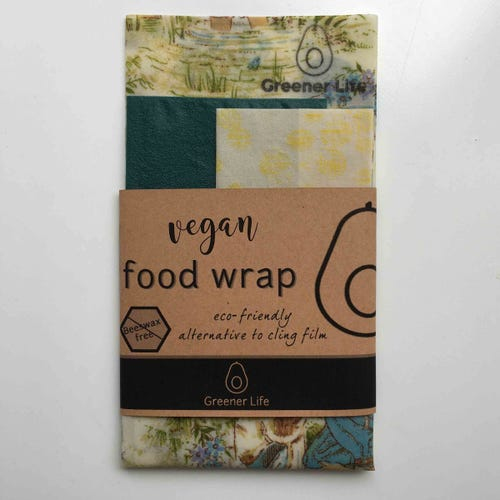 Greener Life Vegan Food Wrap - In The Garden