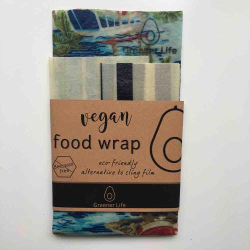 Greener Life Vegan Food Wrap - Tropical