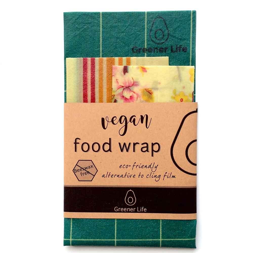 Greener Life Vegan Food Wrap - Country Flowers