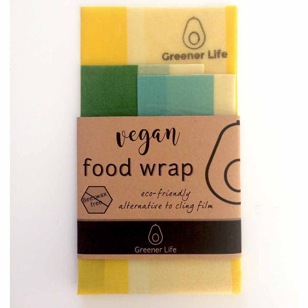 Greener Life Vegan Food Wrap - Mellow Yellow