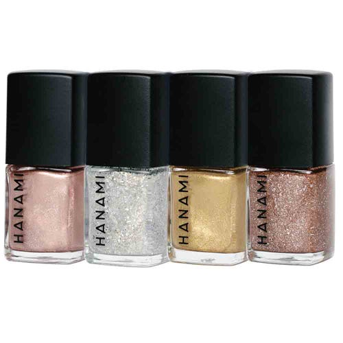 Hanami Nail Polish Gift Pack Tinsel (4 x 9ml)