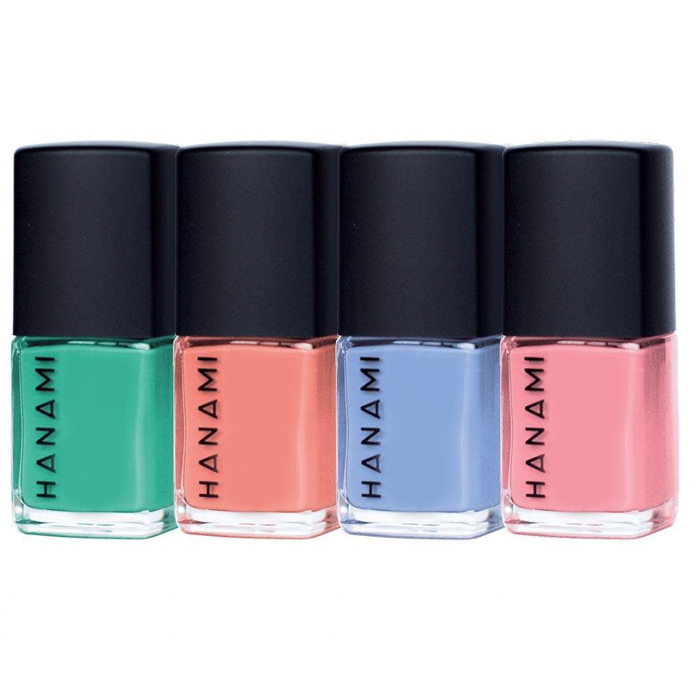 Hanami Nail Polish Gift Pack Voyage (4 x 9ml)