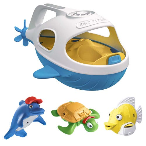 Happy Planet Toys Reef Express Bath Toy Set