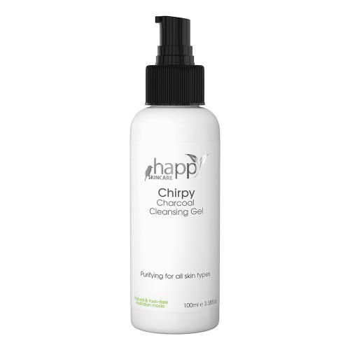 Happy Skincare Charcoal Cleansing Gel