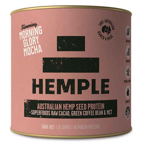 Hemple Hemp Seed Protein - Morning Glory Mocha (500g)