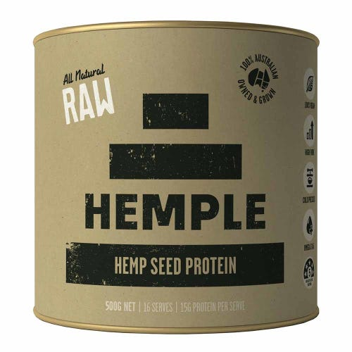 Hemple Hemp Seed Protein - All Natural Raw (500g)