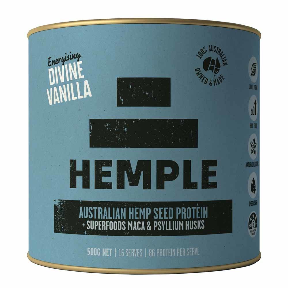 Hemple Hemp Seed Protein - Divine Vanilla (500g)