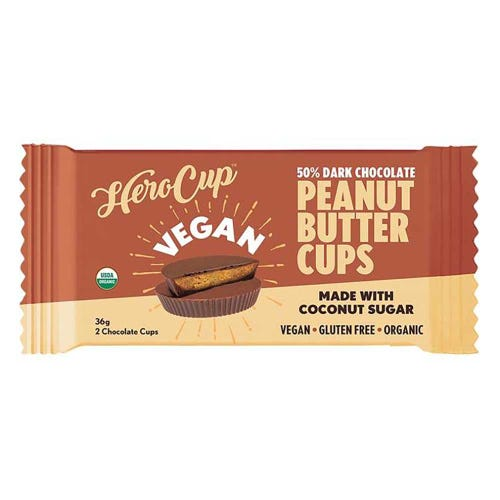 HeroCup 50% Dark Chocolate Peanut Butter Cup