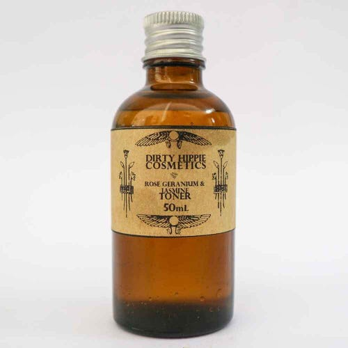 Dirty Hippie Facial Toner Refill Rose - Dry Skin (50ml)