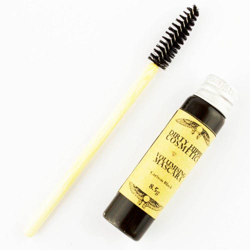 Dirty Hippie Volumising Mascara + Wand - Black (8.5g)