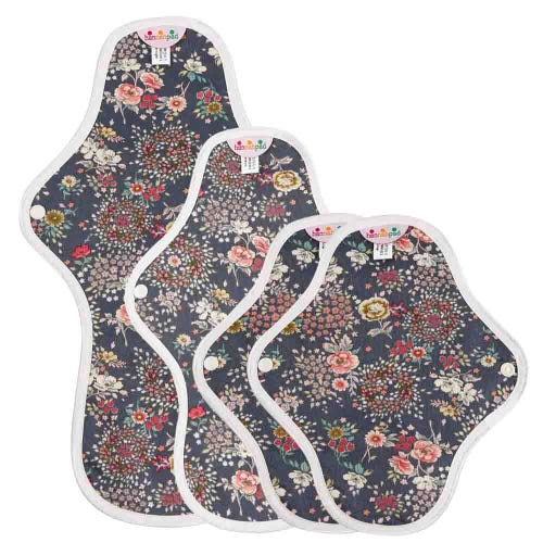 hannahpad Pads Set - Mini Starter (4 Pads) Antique Indigo