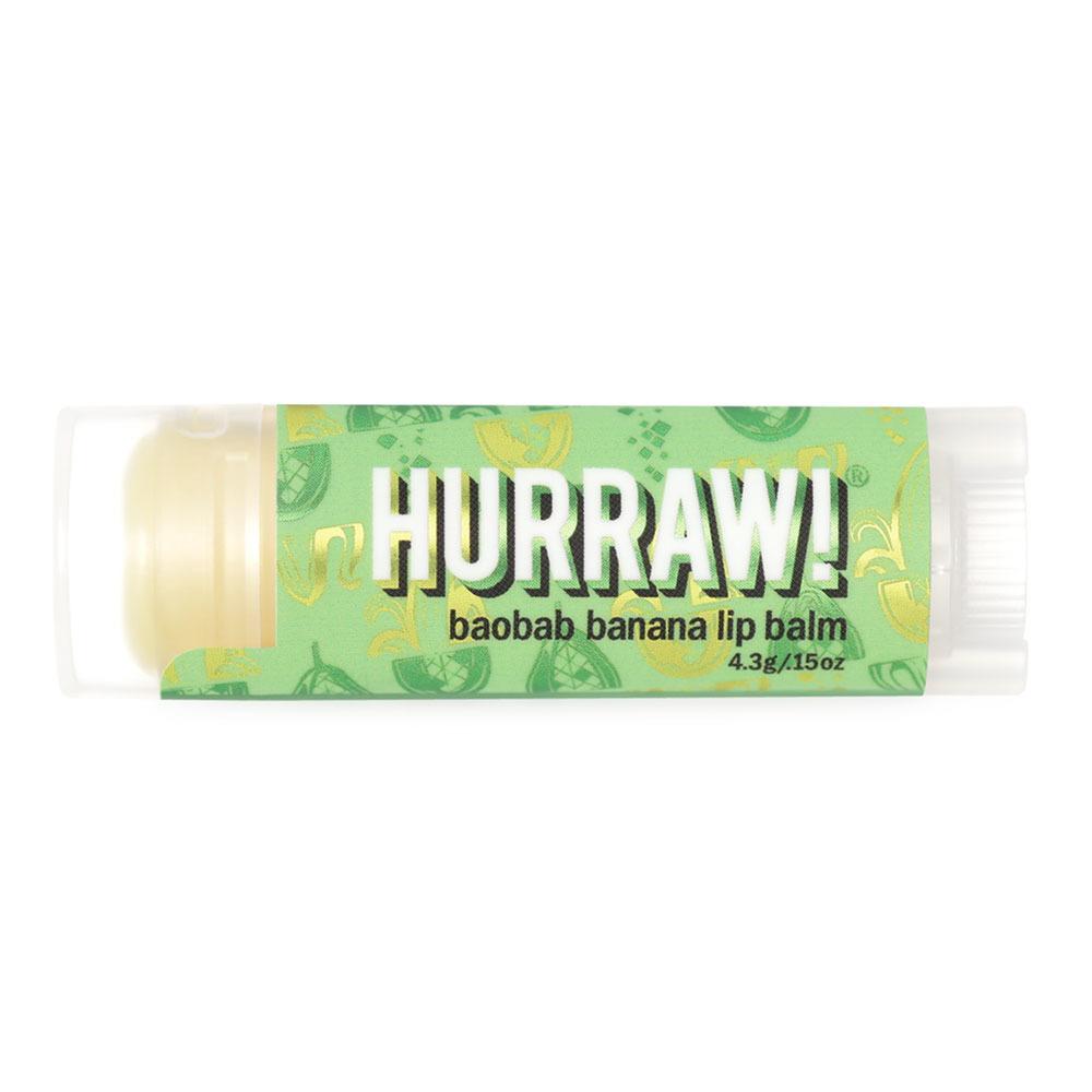 Hurraw! Baobab Banana Lip Balm 4.3g