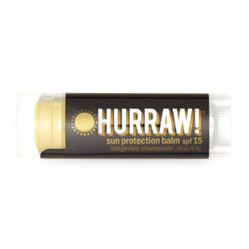 Hurraw! Tangerine and Chamomile Lip Balm SPF15