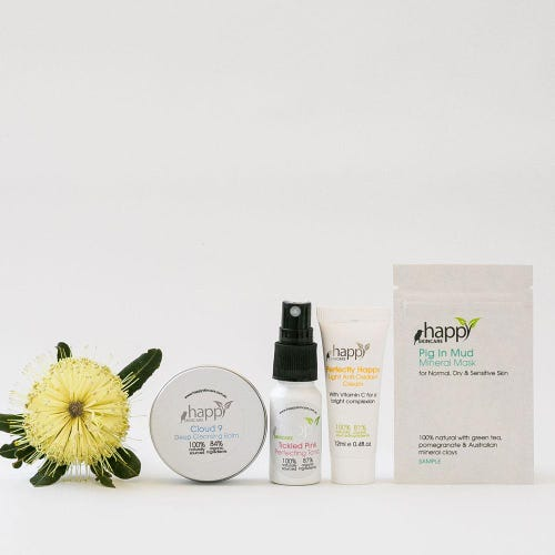 Happy Skincare Sample Pack - Oily & Combination Skin