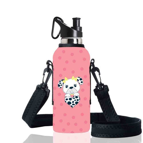BBBYO Kids Sippy Bottle Carry Cover Dalmation - 500ml