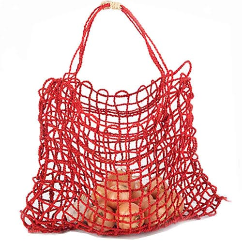 Araliya Community Coconut String Bag - Chilli