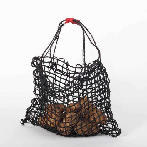 Araliya Community Coconut String Bag - Jet
