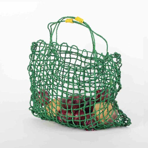 Araliya Community Coconut String Bag - Lime