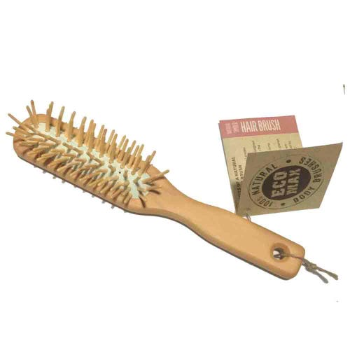 Eco Max Natural Timber Hair Brush