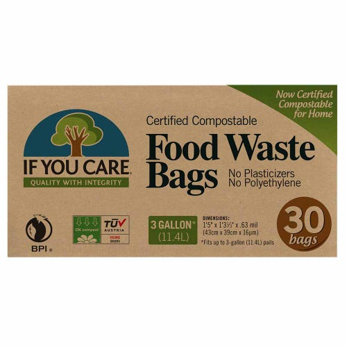 If You Care Food Waste Bags 11.4L - 30 Bags