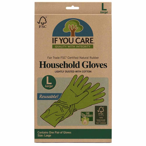 If You Care Household Gloves  Large - 1 Pair