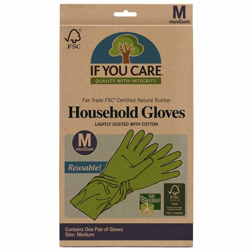 If You Care Household Gloves  Medium - 1 Pair