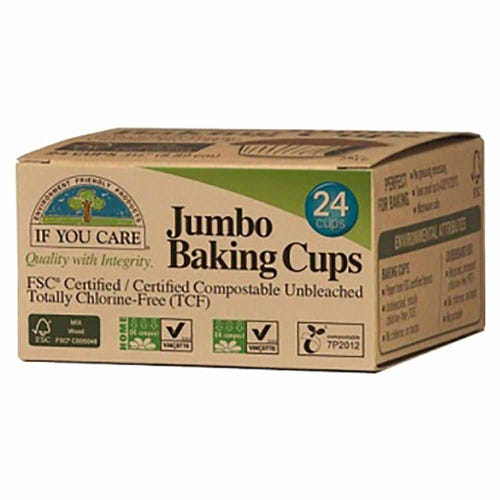 If You Care Jumbo Baking Cups - 24