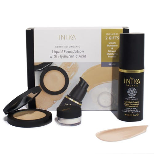Inika Fresh and Flawless Foundation Kit