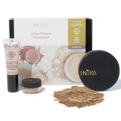 Inika Matte and Flawless Foundation Kit