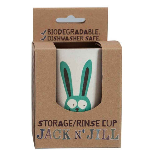 Jack N' Jill Biodegradable Storage Rinse Cup Bunny