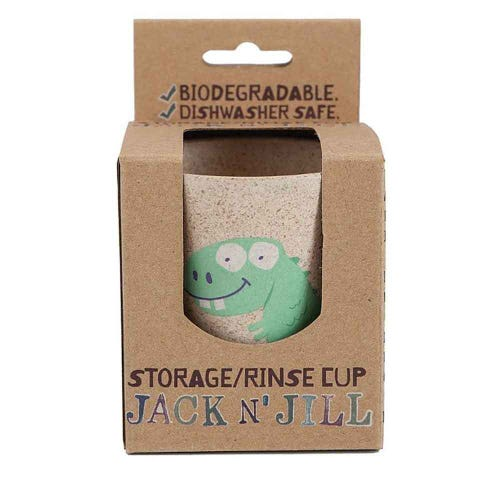 Jack N' Jill Biodegradable Storage Rinse Cup Dino