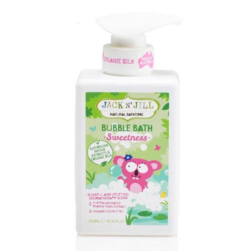 Jack N' Jill Kids Bubble Bath Sweetness (300ml)