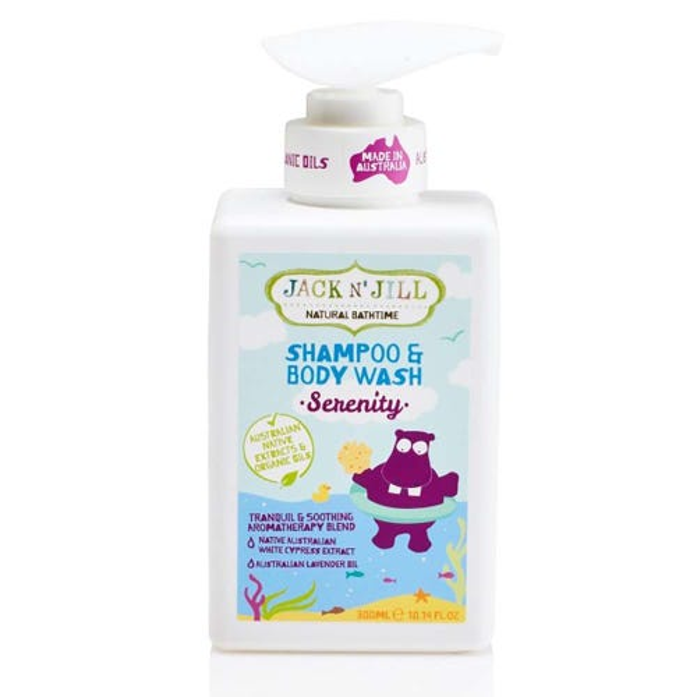 Jack N' Jill Kids Shampoo & Body Wash Serenity (300ml)