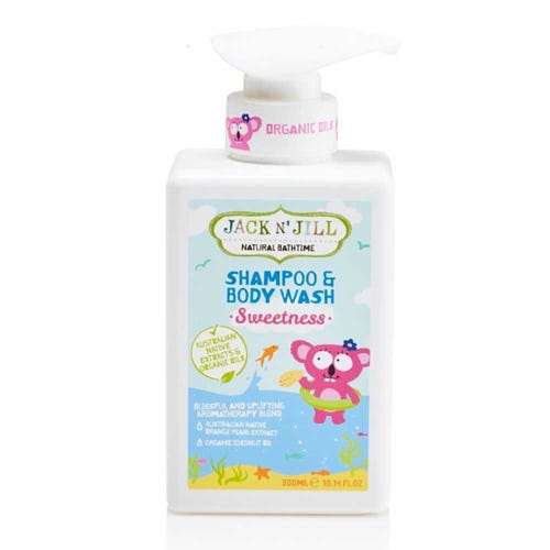 Jack N' Jill Kids Shampoo & Body Wash - Sweetness (300ml)