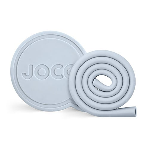 "Joco Roll Straw 10"" - Vintage Blue"