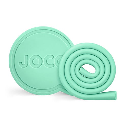 "Joco Roll Straw 10"" - Vintage Green"